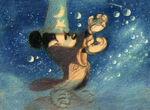 Sorceror Mickey Concept Art 25