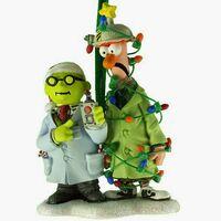 Disney ornament 2014 Dr. Bunsen Honeydew Beaker