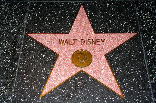File:Walt Disney's star on the Hollywood Walk of Fame.jpg