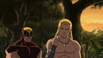 Ka-Zar and Wolverine