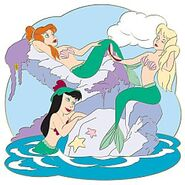 Mermaid lagoon pin 14 95
