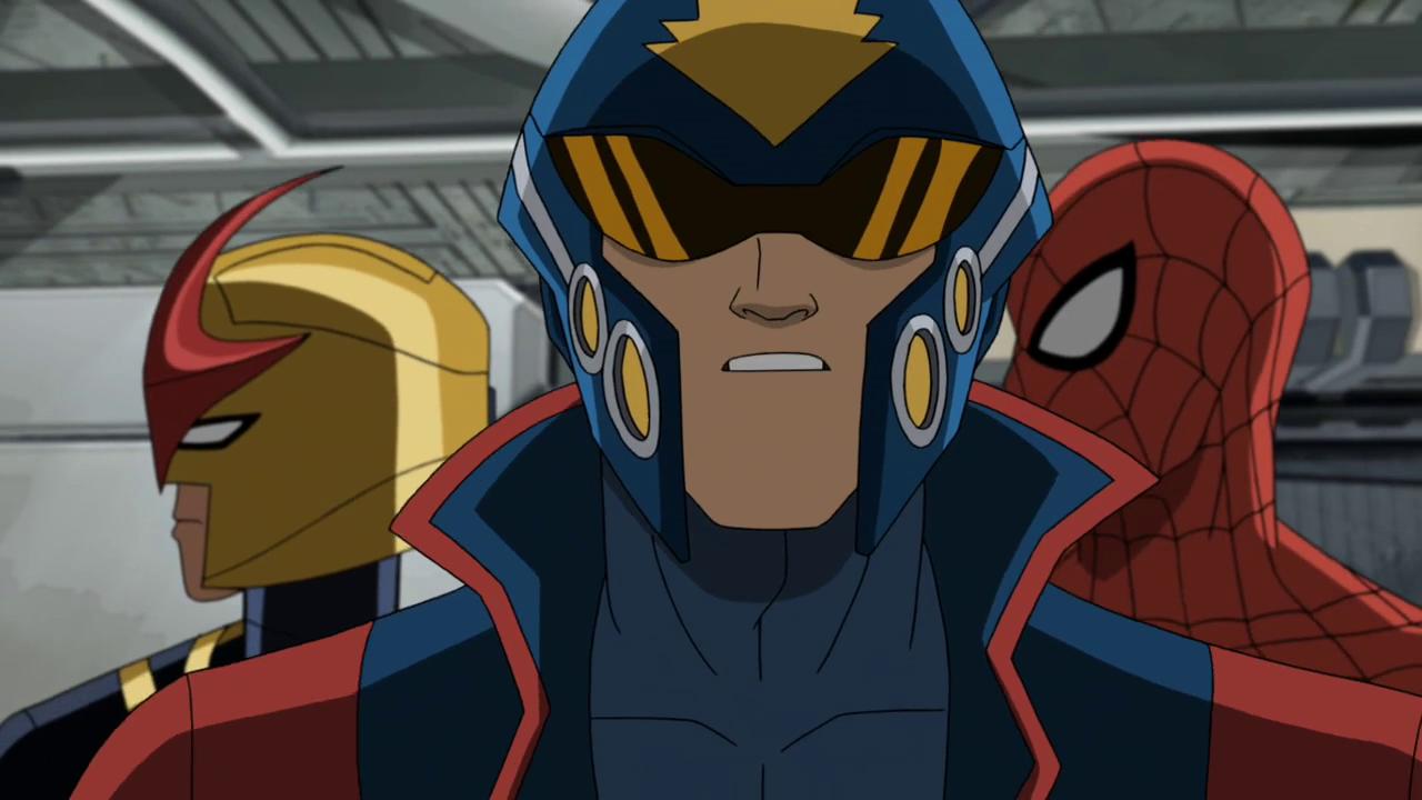 Image star lord nova spider man disney wiki - Nova ultimate spider man ...