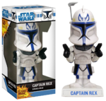 Star Wars - Clone Wars - Captain Rex Wacky Wobbler