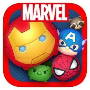 Marvel Tsum Tsum Game App Icon