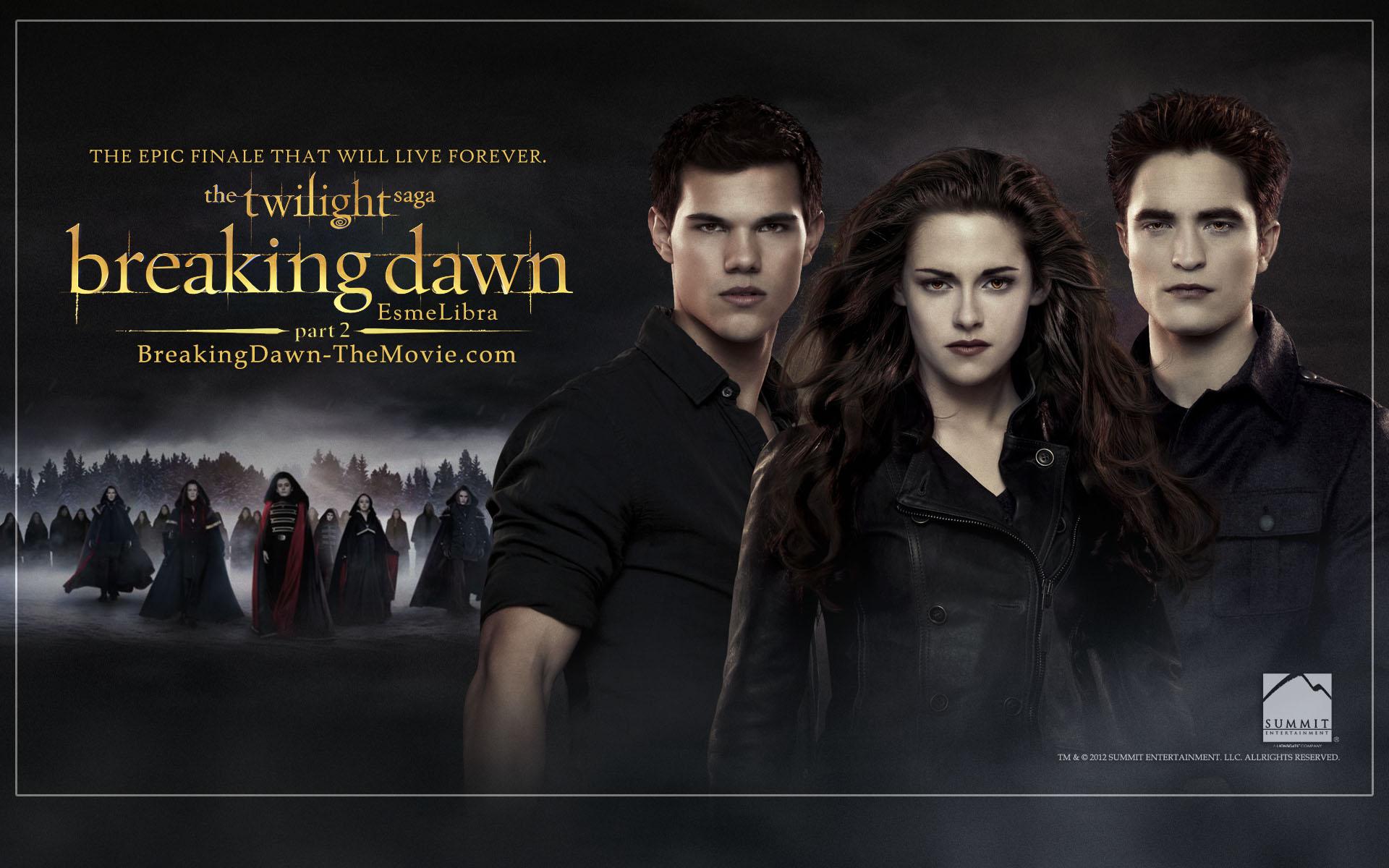 Twilight Saga Breaking Dawn Part Wallpapers WallpaperPulse