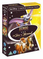 The Fox and the Hound Dumbo Box Set UK DVD