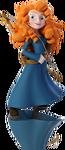 Merida Disney INFINITY render