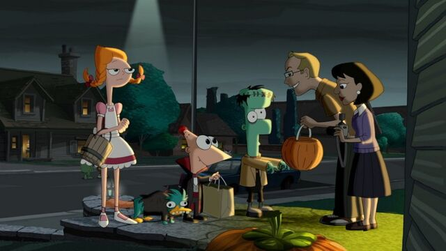 File:Candace Phineas Perry and Ferb in a halloween costume.jpg