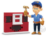 Disney wreck-it ralph Fix-it Felix jr figure