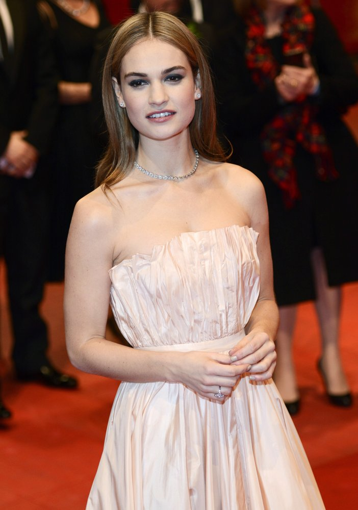 lily james war and peace
