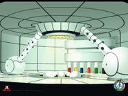 Inside of Super Robot