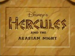 Hercules and the Arabian Night