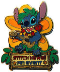 Stitch hawaii event pin
