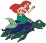 Little Mermaid Boxed Pin Set (Ariel)