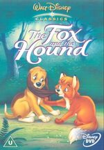 The Fox and the Hound 2001 UK DVD
