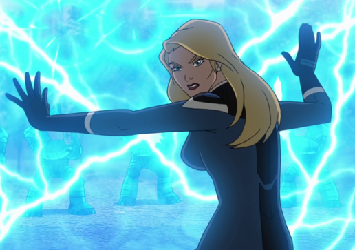 Invisible Woman... Invisible Woman Powers