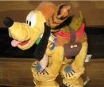 Disney Mickey Mouse Clubhouse Western Frontierland Pulto Plush Doll