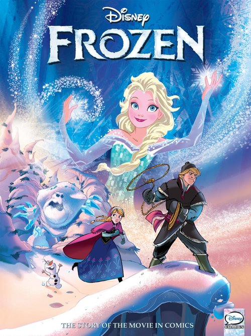 Frozen Graphic Novel Disney Wiki Fandom Powered By Wikia