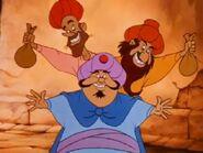 The Three Merchants smile