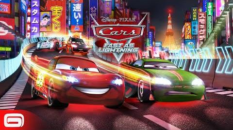 Cars Fast as Lightning - Neon Racing!