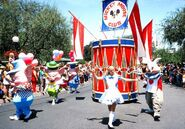 Mickey mouse club parade