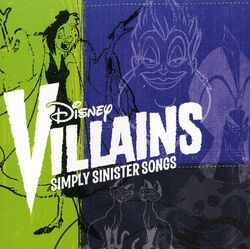 Disney Villains Simply Sinister Songs Cover