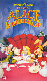 Alice in Wonderland UK VHS