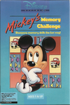 Mickey's memory challenge dos box artwork