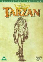 Tarzan CE 2000 UK DVD