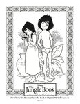 The Jungle Book Mowgli Shanti love coloring page