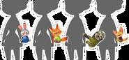 Zootopia Amulets - Kingdom Hearts X