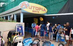 Autopia at Hong Kong Disneyland