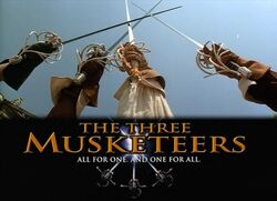 Three Musketeers Swords