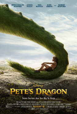 Petes Dragon 2016 poster