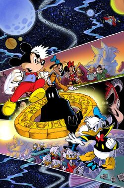 Walt Disney's Comics & Stories 721 cover