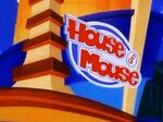 House mouse sign 3