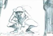 The Hunchback of Notre Dame - Storyboard - As Long As There's a Moon - 2