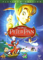 9. Peter Pan (1953) (Platinum Edition 2-Disc DVD)