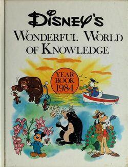 Disneys wonderful world of knowledge year book 1984
