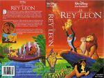 EL+REY+LEÓN+VHS+1995