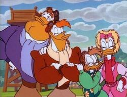 Launchpad and his family