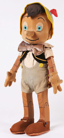 278px Pinocchio CHARLOTTE CLARK doll 1