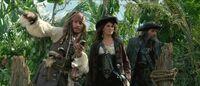 Jack-Angelica and Blackbeard