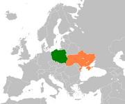Poland Ukraine Locator