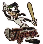 Detroit Tigers Goofy