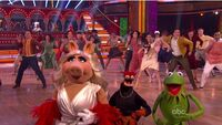 Kermit, Piggy and Pepe in DwtS