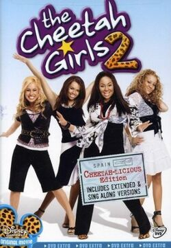 The Cheetah Girls 2 DVD