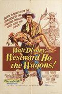 Westward Ho, the Wagons Poster
