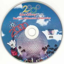 Walt Disney World Yearlong Millennium Celebration (2000 CD)