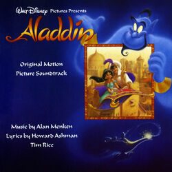 Disney's Aladdin sountrack cover